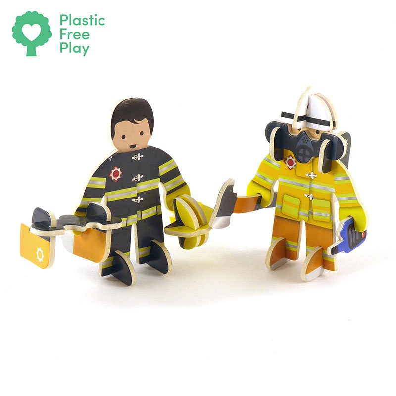 Playpress Rescue Team Pop-Out Eco-Friendly Playset (4+) 4