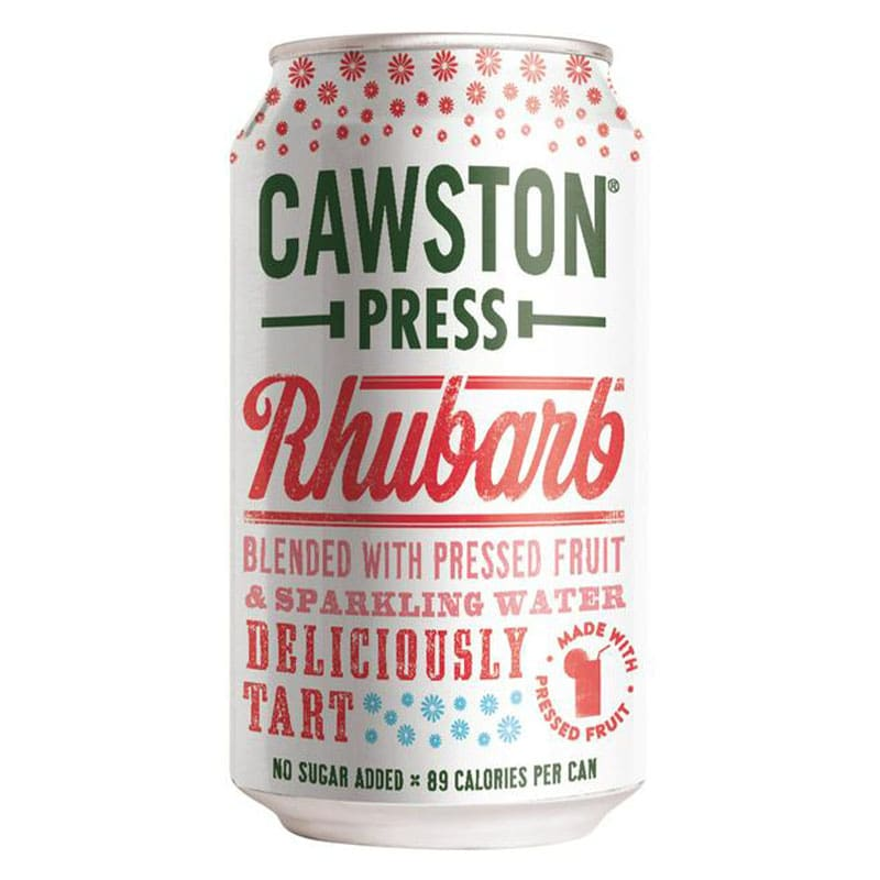 Cawston Press Sparkling Rhubarb Drink Can (330ml)