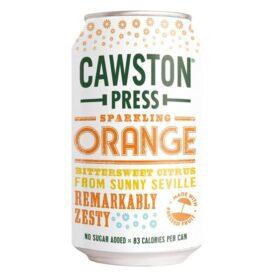 Cawston Press Sparkling Orange Drink Can (330ml)