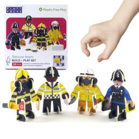 Playpress Rescue Team Pop-Out Eco-Friendly Playset (4+) 2