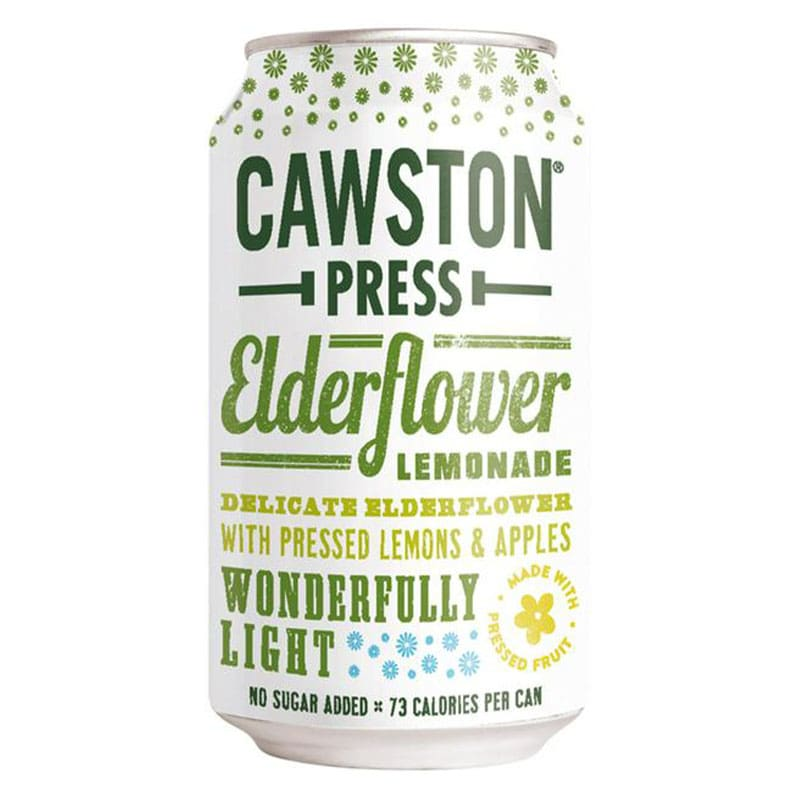 Cawston Press Elderflower Lemonade Drink Can (330ml)