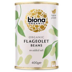 Biona Organic Flageolet Beans (400g)