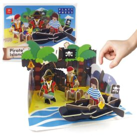 Playpress Pirate Island Pop-Out Eco-Friendly Playset (4+) 3