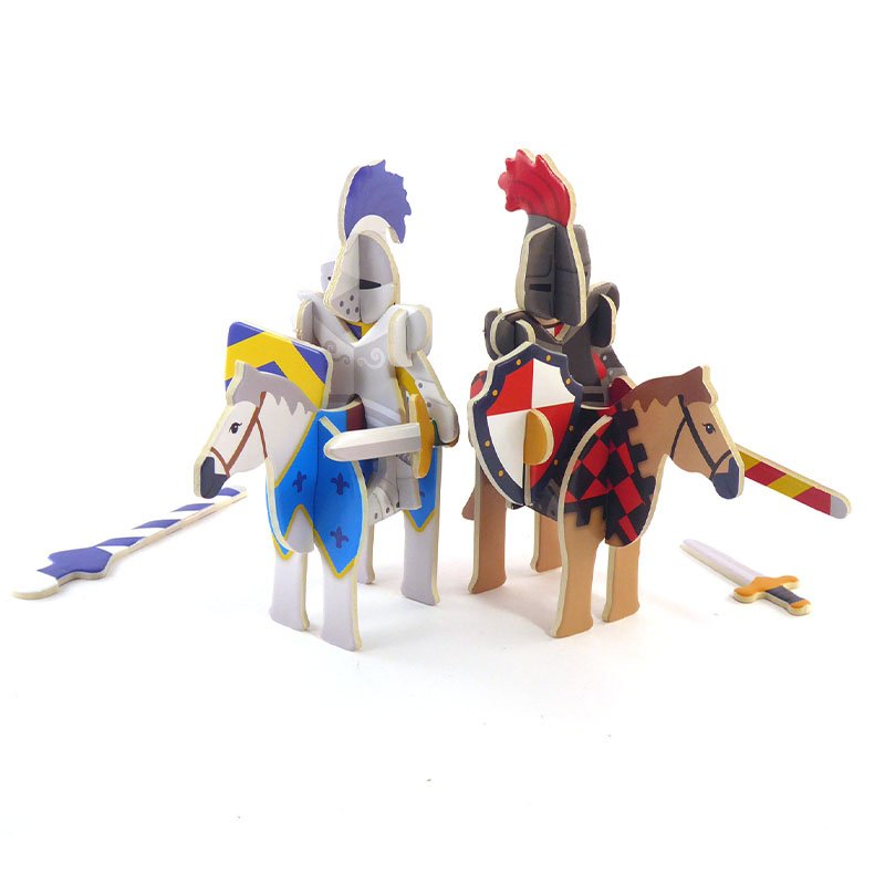 Playpress Knights Castle Pop-Out Eco-Friendly Playset (4+) 4