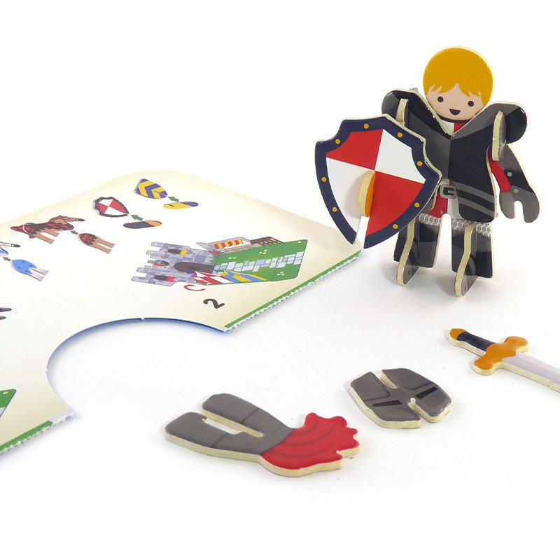 Playpress Knights Castle Pop-Out Eco-Friendly Playset (4+) 3