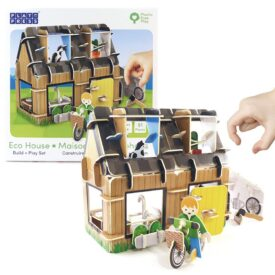 Playpress Eco-House Pop-Out Eco-Friendly Playset (4+) 2