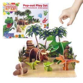 Playpress Dinosaur Roar Pop-Out Eco-Friendly Playset (4+) 3