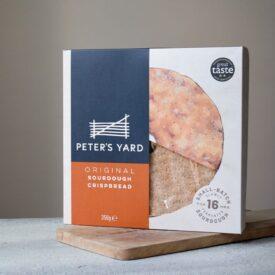 Peter's Yard Original Sourdough Crispbread (Large) with Hole (350g)