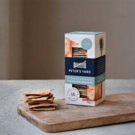 Peter's Yard Rosemary & Sea Salt Sourdough Crackers (90g)