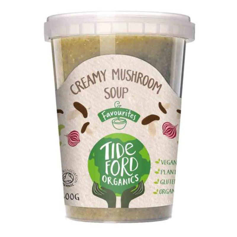 Tideford Organic Creamy Mushroom Soup (600g)