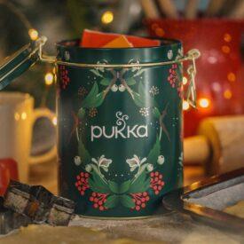 Pukka Organic Festive Tea Collection Gift Tin (with 30 Bags) 3