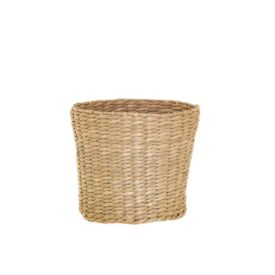 Handmade Small Woven Seagrass Planter by Sass & Belle