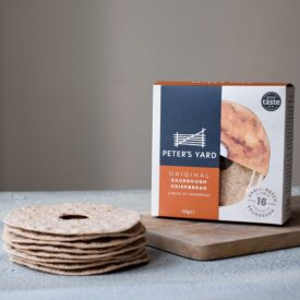 Peter's Yard Original Sourdough Crispbread with Hole (145g)