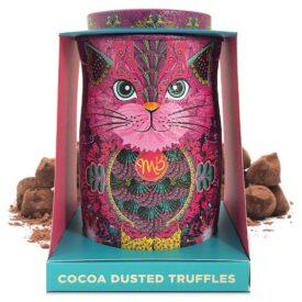 Monty Bojangles Chocolate Truffles Persian Pink Cat Gift Tin (135g)