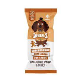 Denzel's Christmas Gingerbread Soft-Baked Vegan Dog Chews (25g)