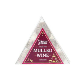 Green Cuisine Mulled Wine Spices - 6 Pouchettes (60g)