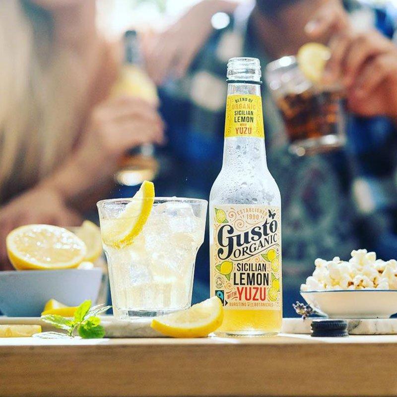15% Off Gusto Organic Drinks