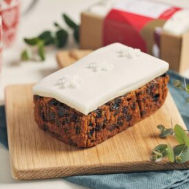 Handmade Christmas Loaf Fruit Cake by Simply Delicious (550g)