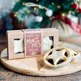 Lottie Shaw's Traditional Mince Pies - Vegan (Box of 2)