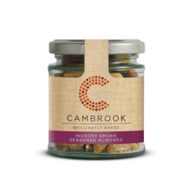 Cambrook Hickory Smoked Seasoned Almonds (95g)