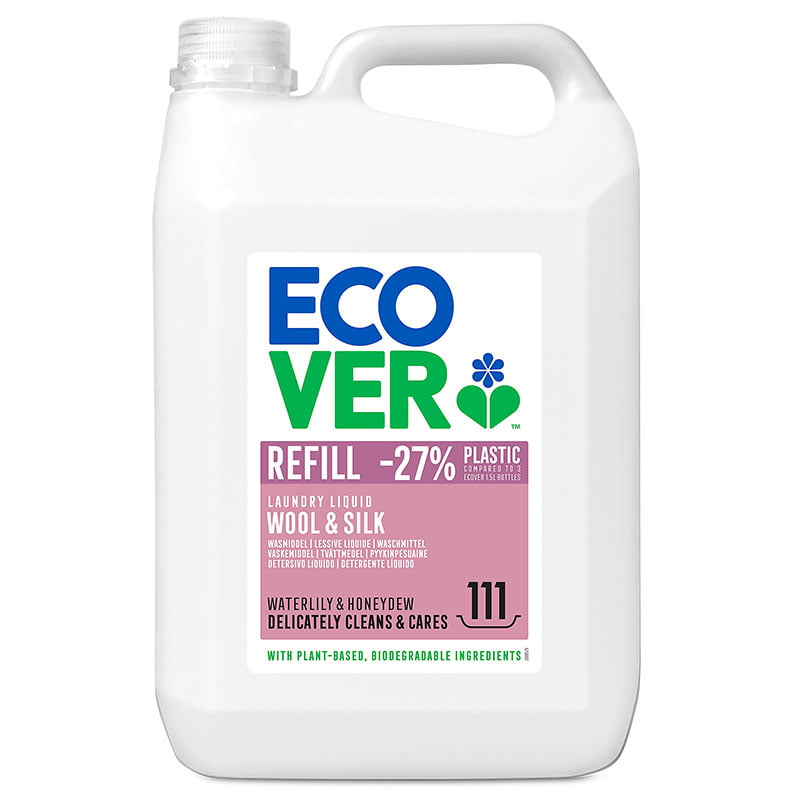 Ecover Delicate Wool & Silk Laundry Liquid (5ltr)