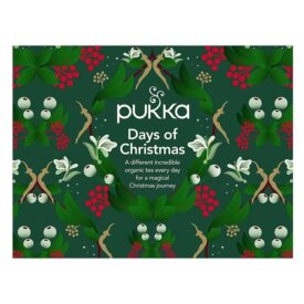Pukka Organic Days of Christmas Tea Advent Calendar (24 Bags)