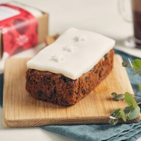 Gluten Free Handmade Christmas Loaf Fruit Cake by Simply Delicious (550g)