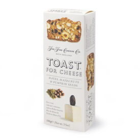 The Fine Cheese Co Toast For Cheese - Dates, Hazelnuts & Pumpkin Seeds (100g)