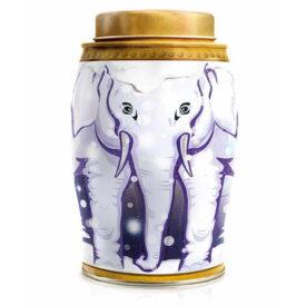 Williamson Tea Snow Globe Elephant Tea Caddy - Earl Grey (40 Tea Bags)