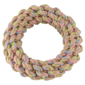 Beco Pets Hemp Rope Ring Dog Toy - Large