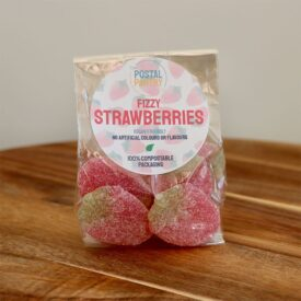 Vegan Fizzy Strawberries Sweets (125g)