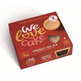 We Love Cake Gluten Free & Vegan Mince Pies (Box of 4)
