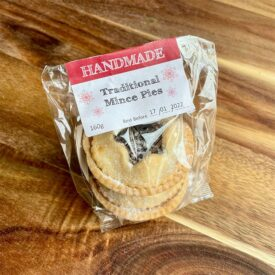 Foxcombe Bakehouse Handmade Mince Pies (2 Pack)