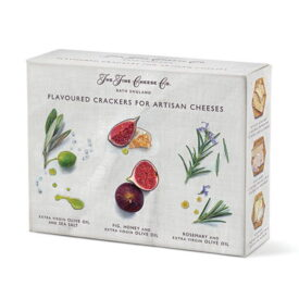 The Fine Cheese Co Flavoured Crackers Selection Box (375g)