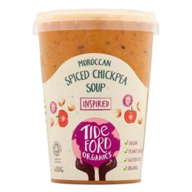 Tideford Organic Moroccan Spiced Chickpea Soup (600g)