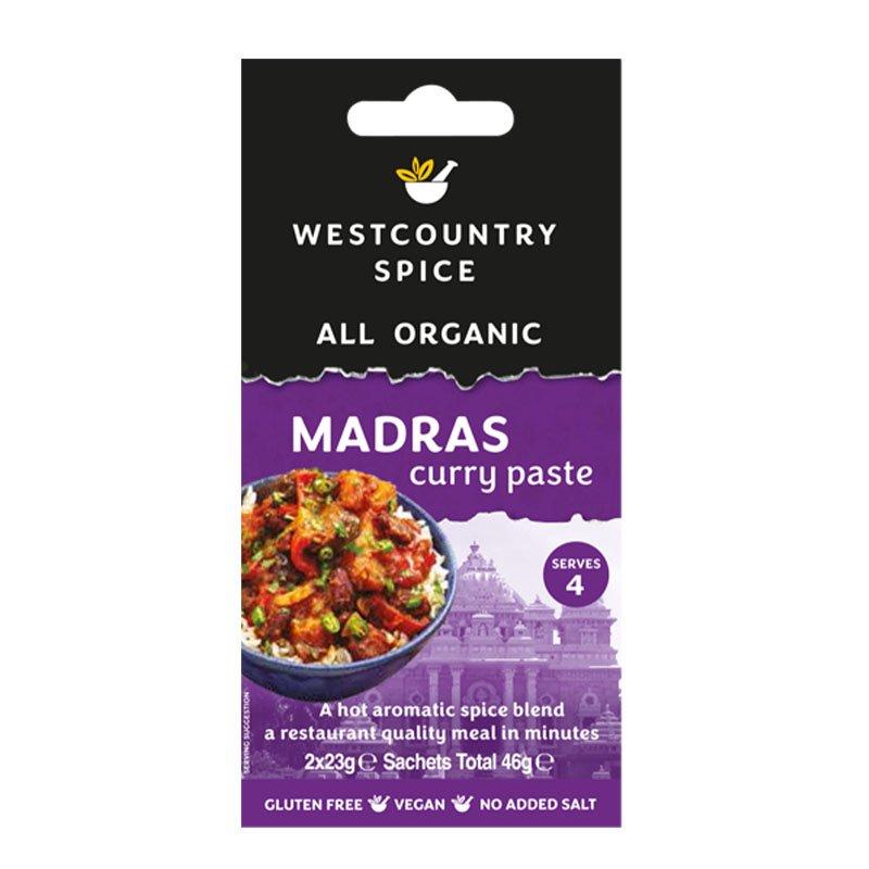 Westcountry Spice Organic Madras Curry Paste (46g)