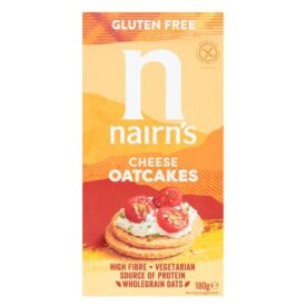 Nairn's Gluten Free Cheese Oatcakes (180g)