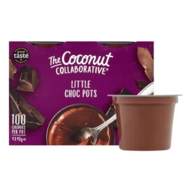 The Coconut Collaborative Chocolate Little Pots - Dairy Free (4 x 45g)