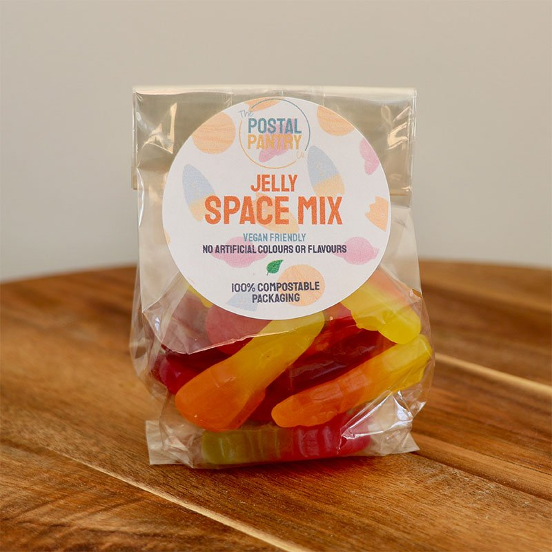 Vegan Jelly Space Mix Sweets (125g)