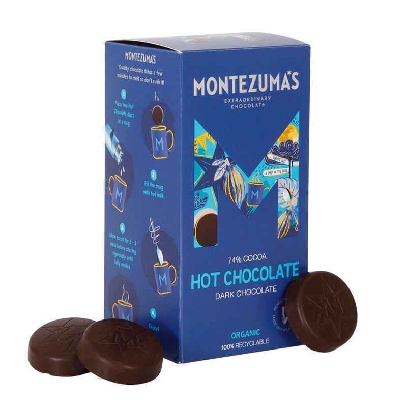 Montezuma's Organic Dark Hot Chocolate Discs (300g)