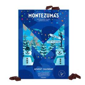 Montezuma's Organic Vegan Like No Udder Christmas Chocolate Advent Calendar (144g)