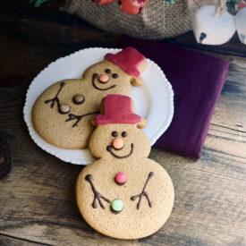 Lottie Shaw's Gingerbread Snowman Biscuit (1 Pack)
