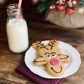 Lottie Shaw's Gingerbread Reindeer Biscuit (1 Pack)