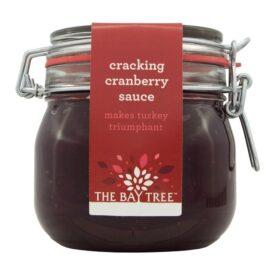 The Bay Tree Cracking Cranberry Sauce Kilner Style Jar (570g)