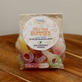 Vegan Fizzy Sour Dummies Sweets (125g)