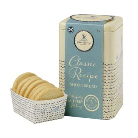 Island Bakery Organic Classic Recipe All Butter Shortbread Biscuit Gift TIn (175g)