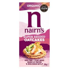 Nairn's Organic Super Seeded Oatcakes (200g)