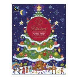 Divine Fairtrade Milk Chocolate Christmas Advent Calendar (85g)