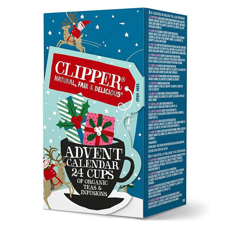 Clipper Organic Tea Christmas Advent Calendar - 24 Bags (48g)