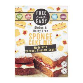 Free & Easy Sponge Mix - Vegan & Gluten Free (350g)